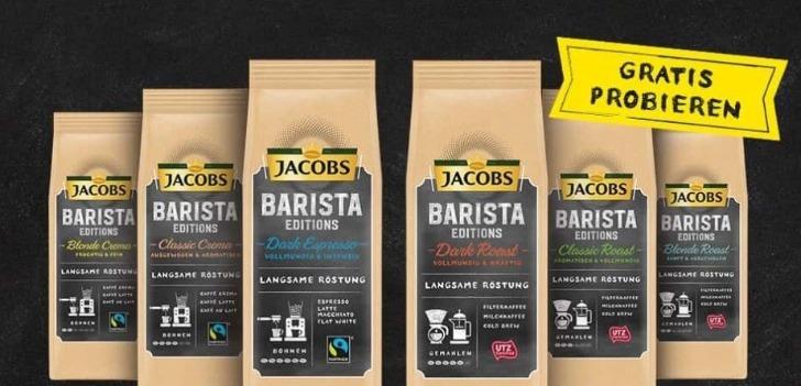 Jacobs-Barista cashback Aktion