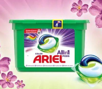 Ariel All-in-1 Pods Geld zurueck