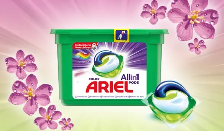 Ariel All-in-1 Pods Geld zurueck