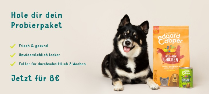 Edgar & Cooper Hundefutter Aktion