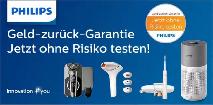 Philips Geld-zurück-Garantie
