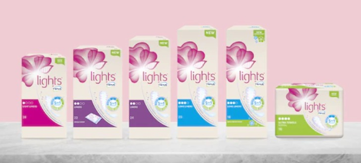 TENA lights testen