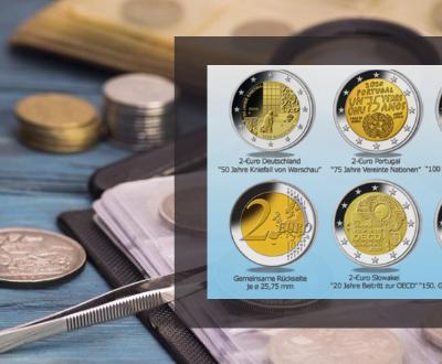 Euromuenzen- Komplettset jetzt kostenfrei erhalten