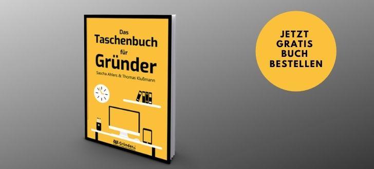Gratis Taschenbuch für Gründer