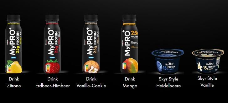 Danone MyPro Produkte