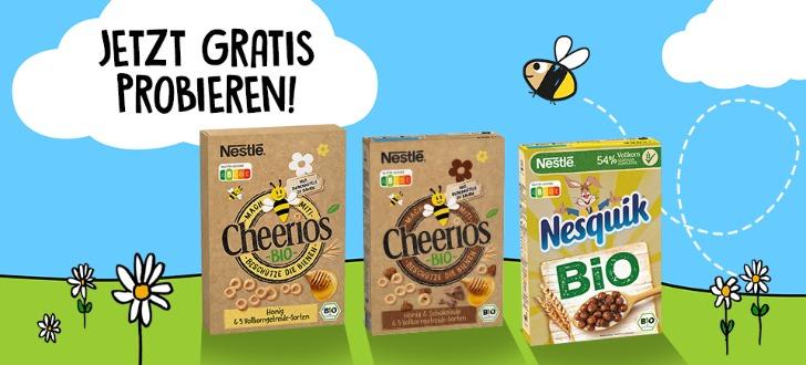 Nestle Bio-Cerealien gratis testen