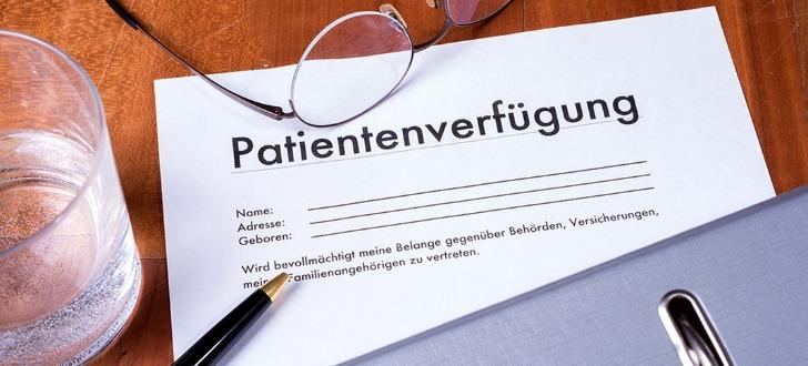 Patientenverfuegung online erstellen
