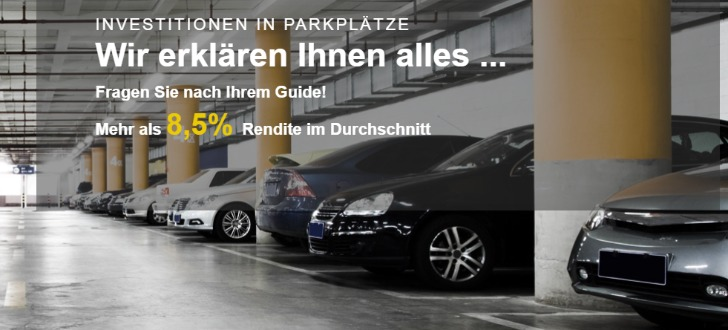 Parkplatz-Investitionen